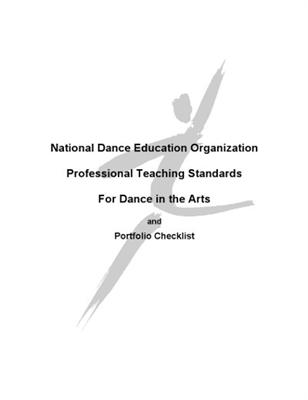 NDEO, Prof Teaching Standards for Dance Arts