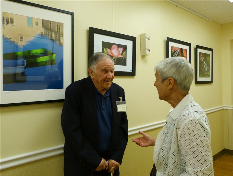 CCCW photo exhibit reception at the Osborn.