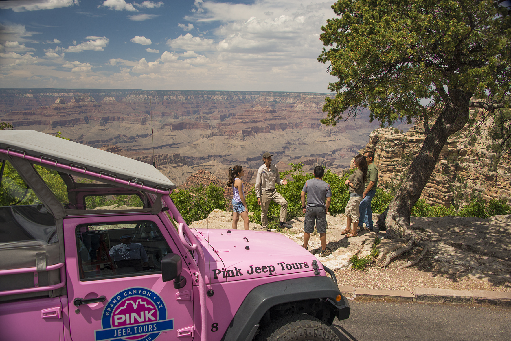Grand Canyon Pink Jeep Tour 200x