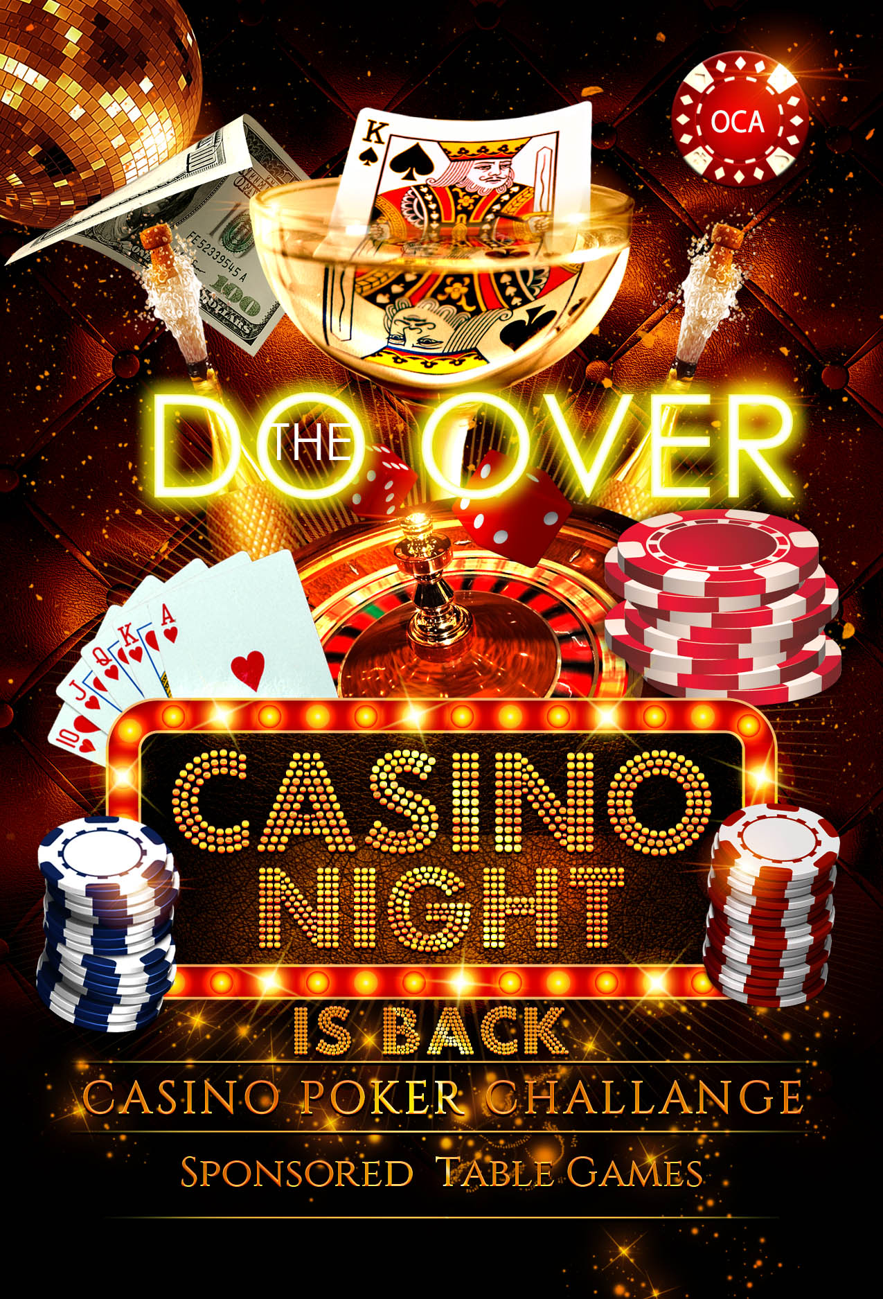 Casino Night Flyer18