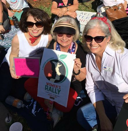 January 21, 2017, Sister Rally in Orlando Fl, supporting the Washington, D.C. rally and international rallies