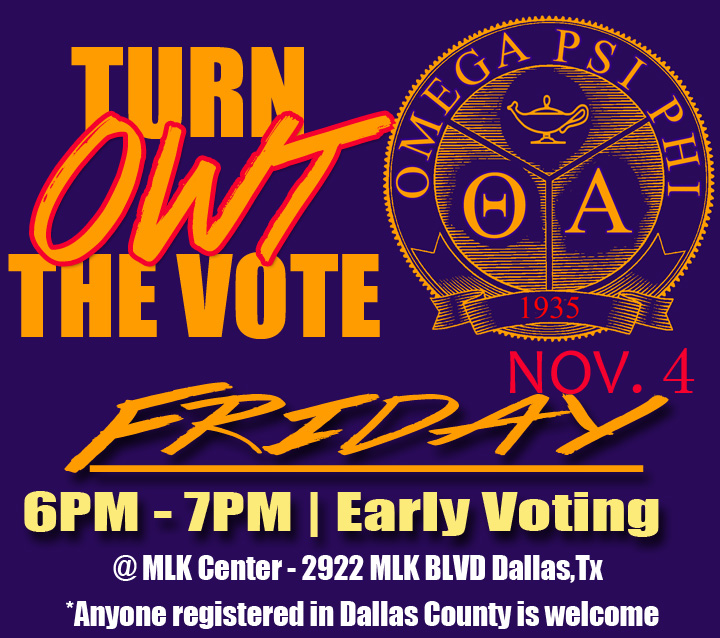 Turn Owt the Vote Updated
