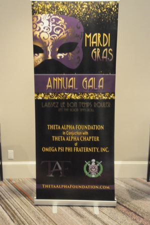 Mardi Gras Theta Alpha Foundation in Conjunction with Theta Alpha Chapter of OMEGA PSI PHI FRATERNITY, INC.  15th ANNUAL TAF BENEFIT.