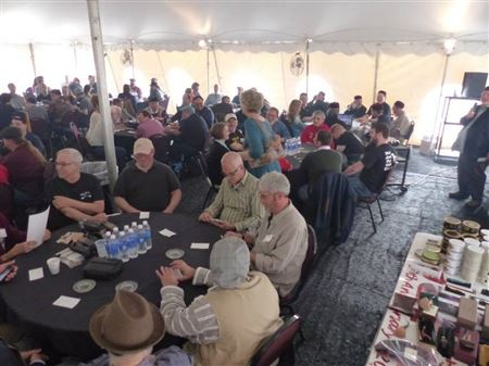 The 12th Annual UPCA National Pipe Smoking Contest was held on May 4, 2014.