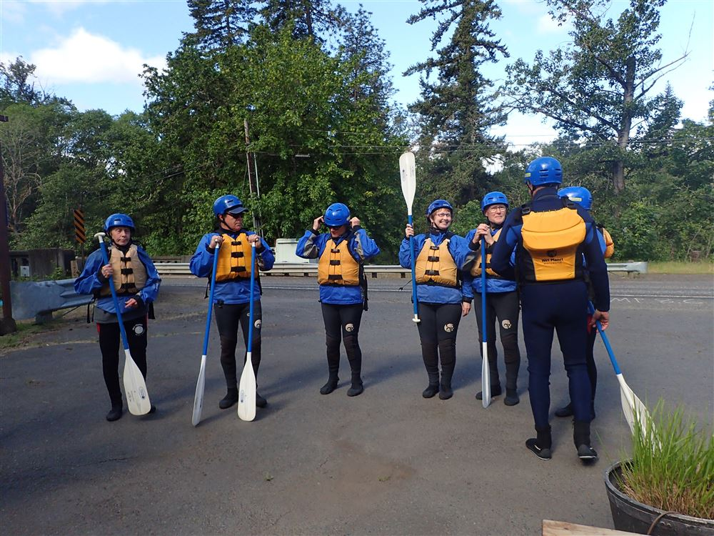May 16, 2015 Rafting on the White Salmon