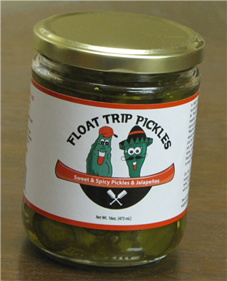 SALE Case of Float Trip Pickles
