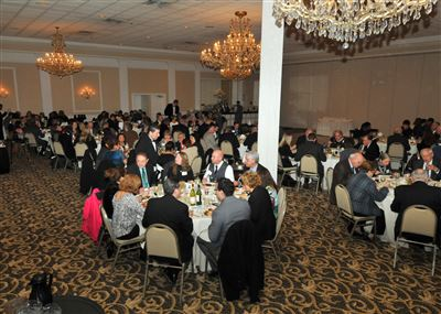150 people who recognized the contributions of Rotarians around the district.