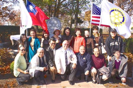 Irv Kaplan is the host for many of the international visitors to Rotary. These are the memories of who came to visit the home of Rotary and its founder.