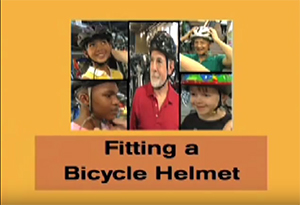 NHTSA Fitting a Bicycle Helmet