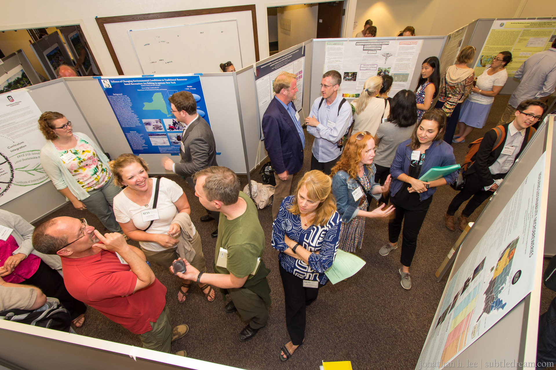Lively Student Poster Session