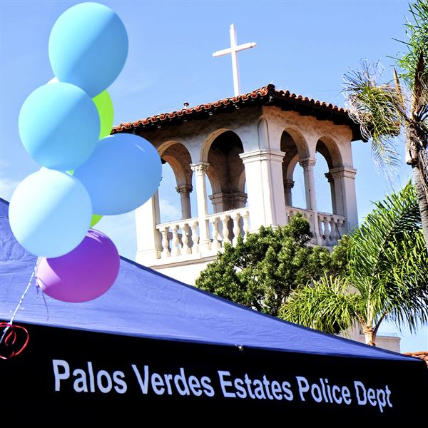 Palos Verdes Peninsula Village was one of many volunteer organizations at the Palos Verdes Estates Health and Wellness Fair, held at the Neighborhood Church October 23, 2015.