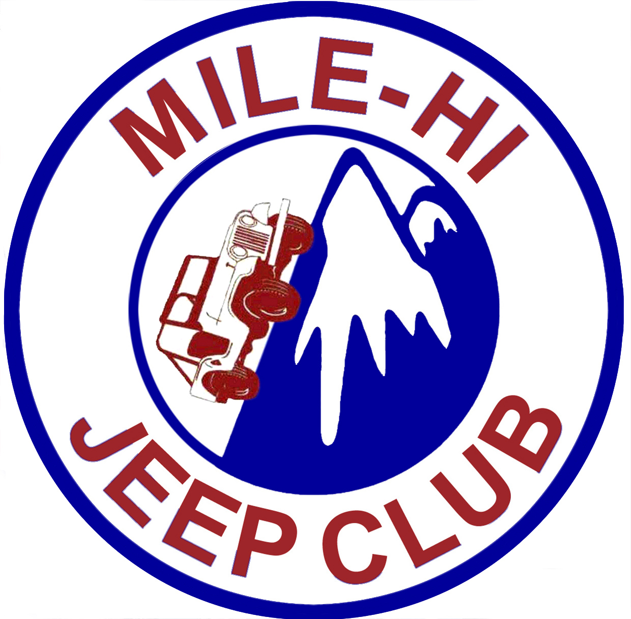 mile hi jeep logo