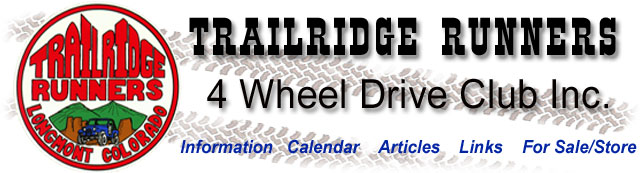 Trailridge Runners 4 Wheel Drive Club