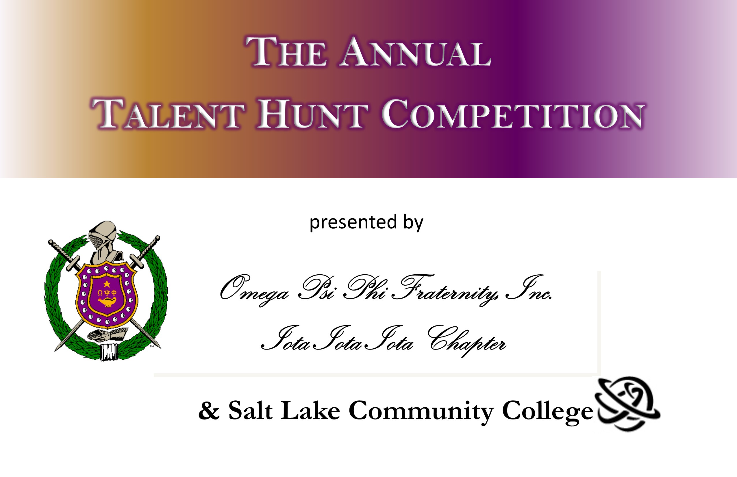 SLCC Talent Hunt support