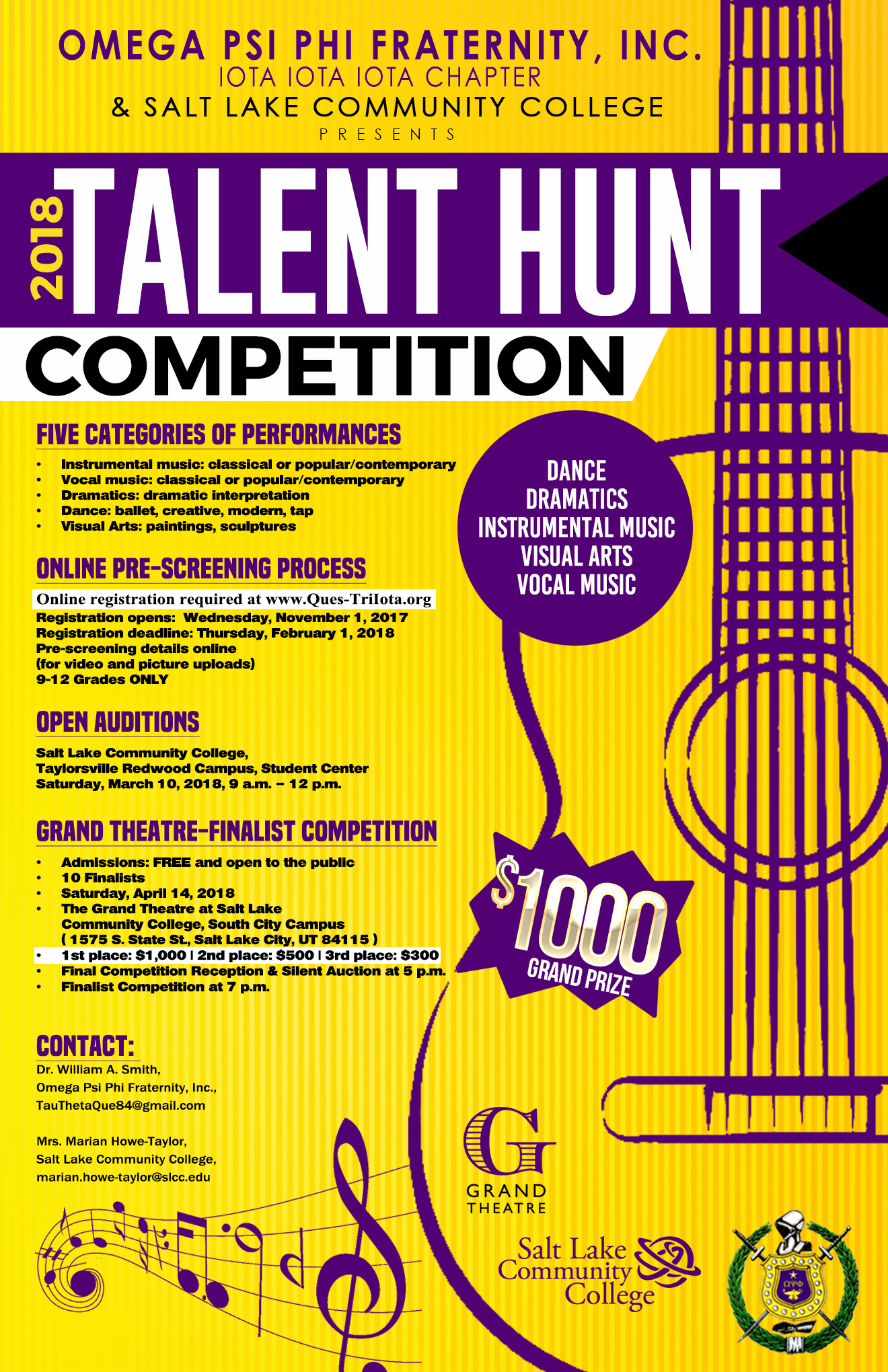 Tri Iota Talent Hunt 2018