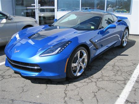 Pictures of NEW Vette