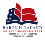 Baron H Galand Knowledge Bowl Logo