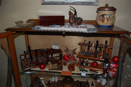 Here are just a few of the pipes I have collected in the years I have enjoyed Pipe Smokeing and collecting