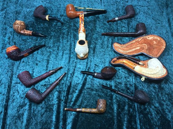 Craig Watness' collection of the SPC Pipes of the Year