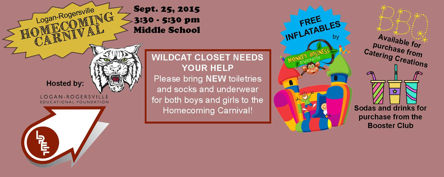 Homecoming Carnival - September 25, 2015