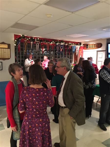 Members came together to celebrate the season at the CRYC 2017 Holiday Party!