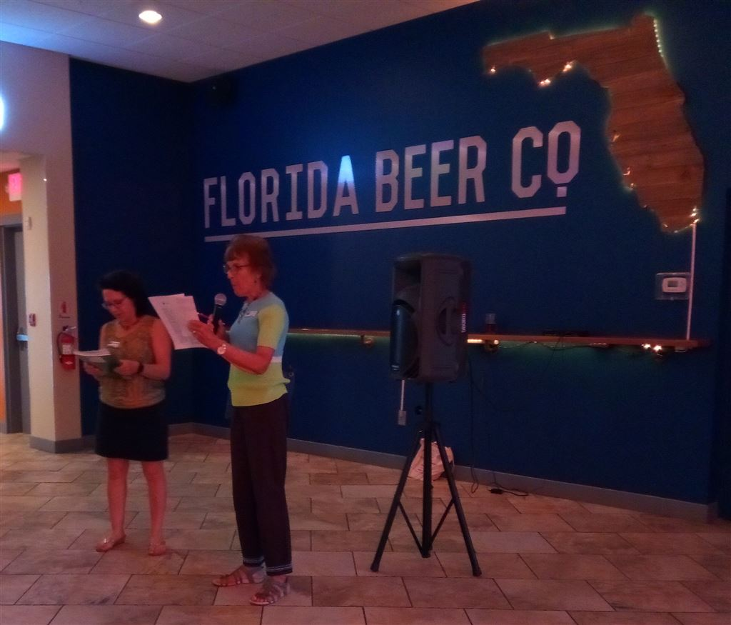 Meet and Greet on August 14th at the Florida Beer Company in Cape Canaveral