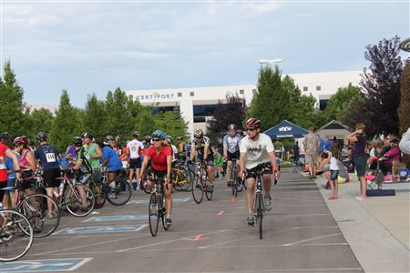Photos of riders on the course at the Tour de Donut 2013