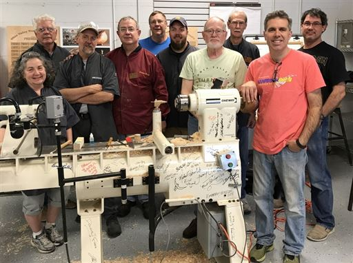 Michael Mocho's Hands-On class conducted Sunday, May 21, 2017