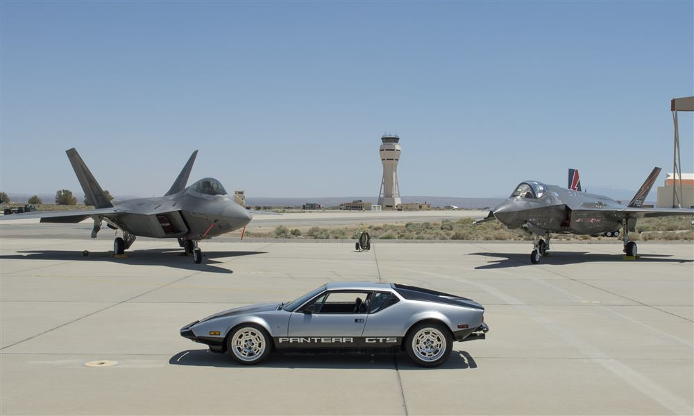 Pantera Invade Edwards AFB  May 2016