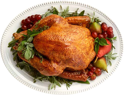 Traditional Turkey Dinner $59.95