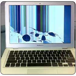 Cracked Macbook Air screen