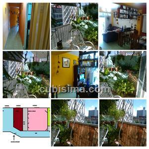 apartamento de 2 cuartos 50000 cuc  en calle j vedado, plaza, la habana