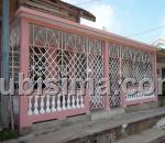 casa de 4 cuartos $35,000.00 cuc  en calle heredia cruces, cienfuegos
