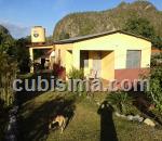 casa de 3 cuartos $50,000.00 cuc  en calle barrio san vicente a 5 minutos del pueblo de viñales viñales, pinar del río