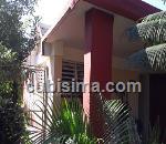 casa de 4 y medio cuartos $60,000.00 cuc  en calle 3ra a zona 1 alamar, habana del este, la habana