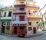apartamento de 2 cuartos $30.00 cuc  en calle industria colón, centro habana, la habana