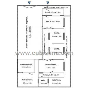 casa de 3 cuartos 11500 cuc  en camaguey, camagüey