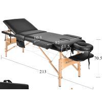 260 cuc Mesa  portátil profesional de 3 sesiones (masajes, tatuajes y otros)