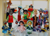 Muñecos MediSanta