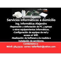 Multiples servicios informáticos a domicilio