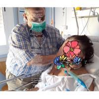Otra sra una paciente en el hospital
