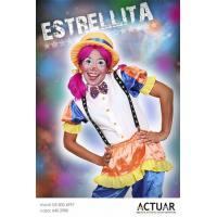 Brindo espectáculo de variedades infantiles con la payasita Estrellita