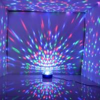 para  su fiestas  bola mágica de cristal  nuevos efectos de iluminación de discoteca