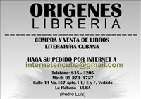 LIBRERIA ORIGENES. EN EL VEDADO