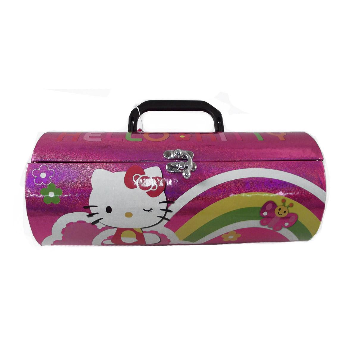 Make Up Kit For Kids Hello Kitty Travel Size Mini Kuas Brush Kaleng Set 7 Pcs Download