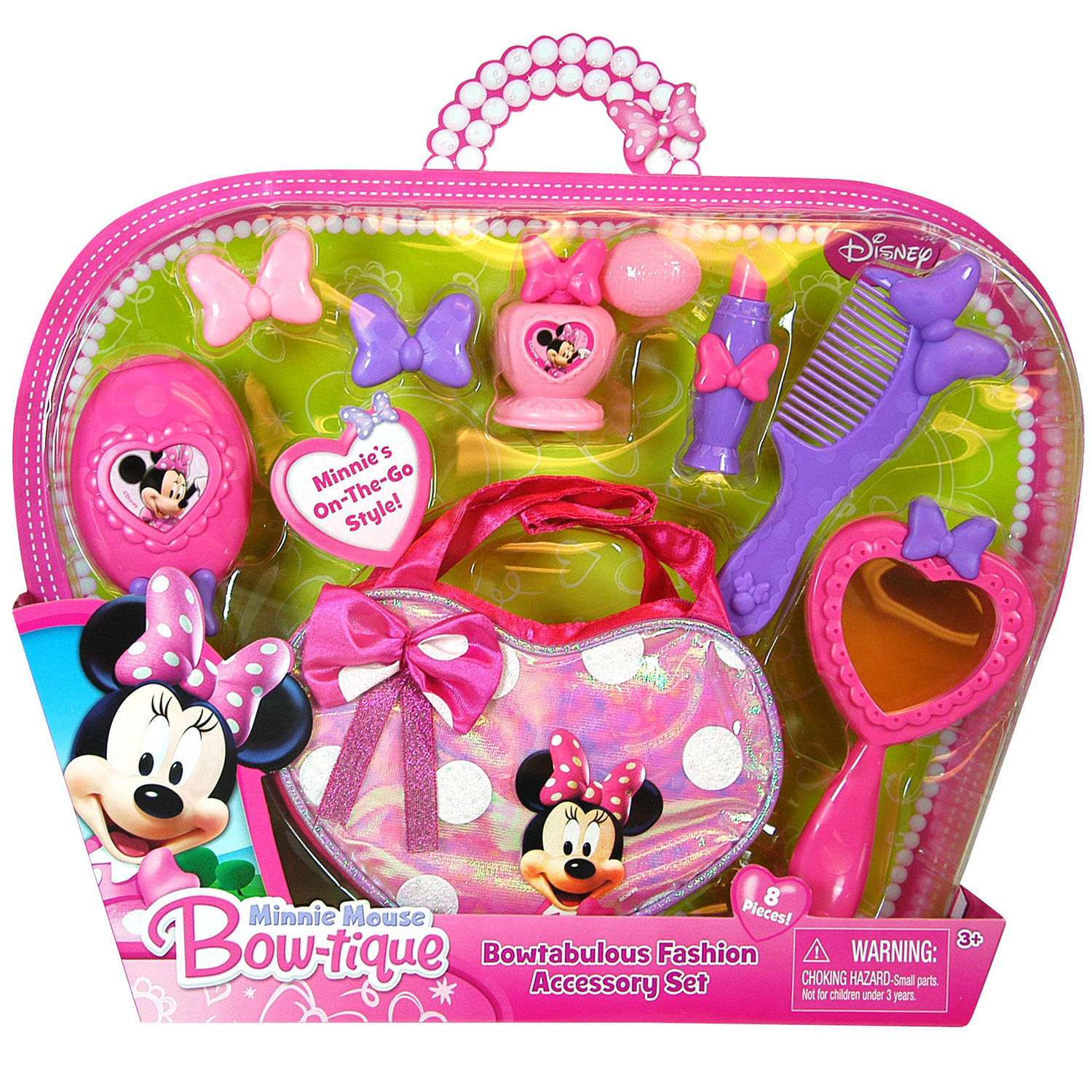 Disney 8pc Disney Minnie Mouse Girls Hair Accessory Fashion Set at Sears.com