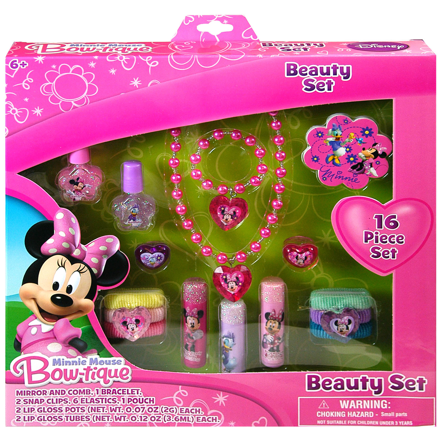 Disney 16pc Disney Minnie Mouse Girls Hair Accessory Beauty Set at Sears.com