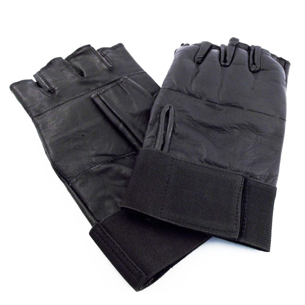 Defensive Weighted Knuckle Fingerless SAP Gloves 8oz XL