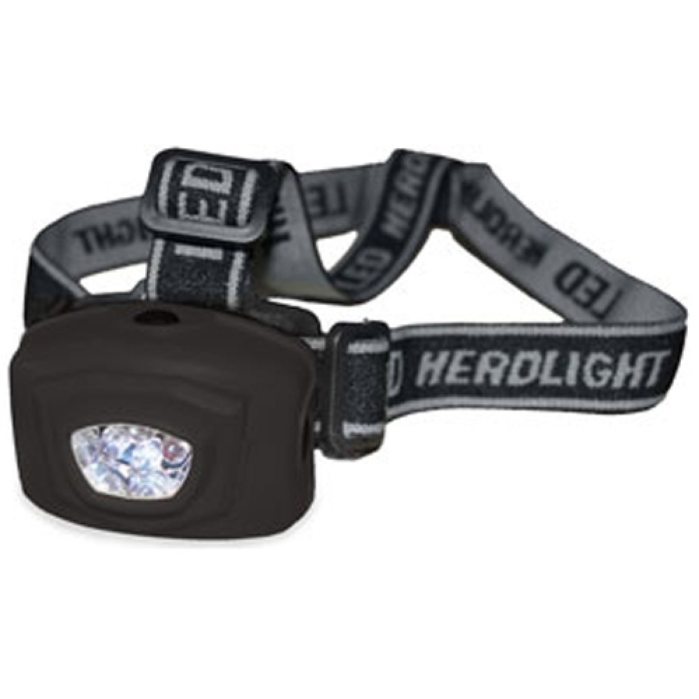 4 LED Multi-function Water-Resistant Outdoor Camping Headlamp