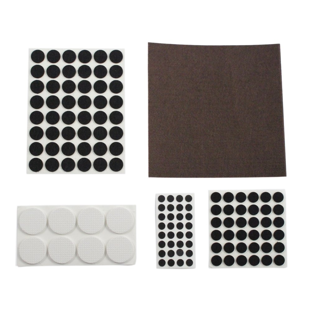 250pc Furniture and Floor Protector Pads